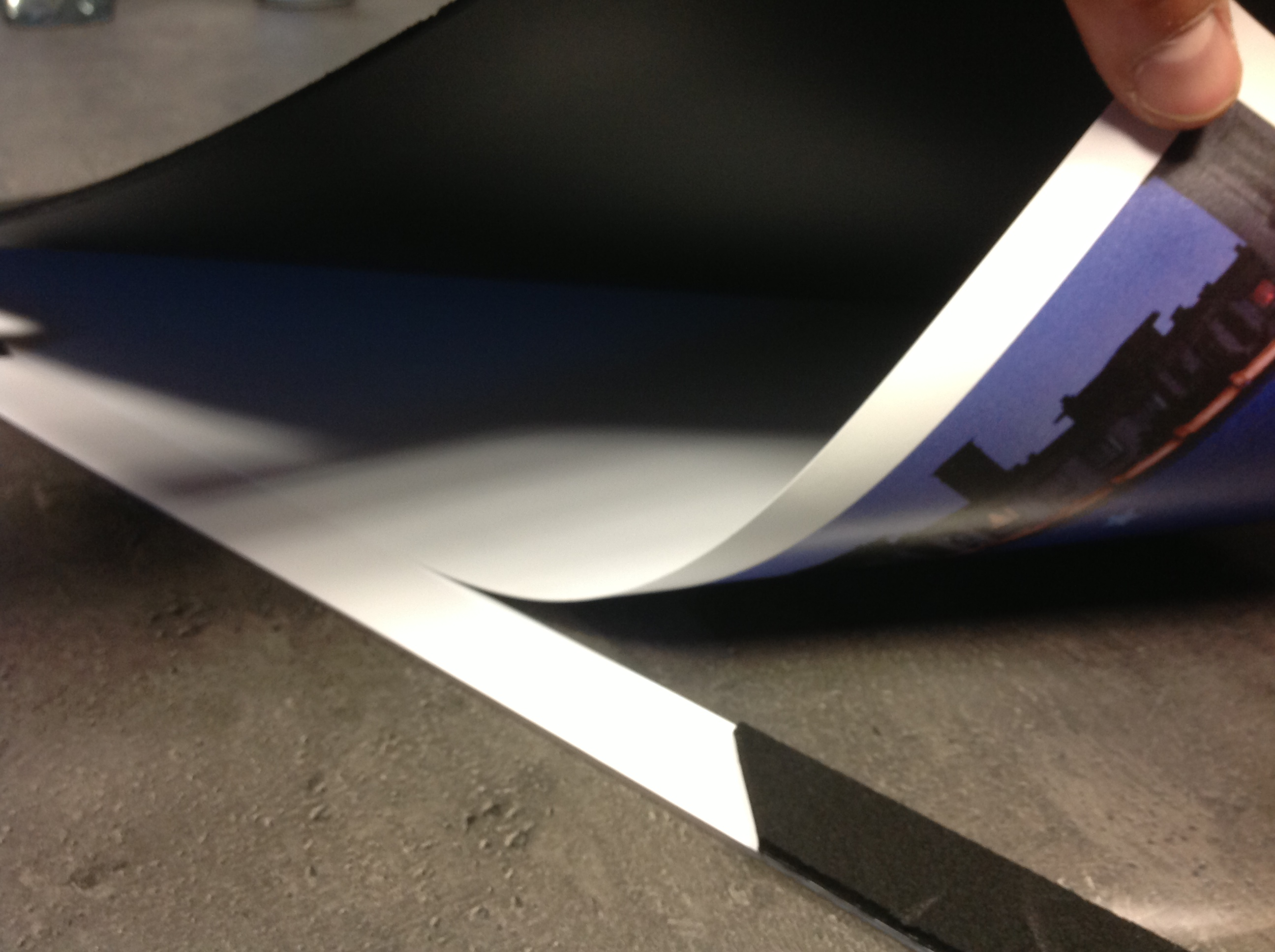 Kunststof onderleggers kopen of bestellen? wij printen en drukken